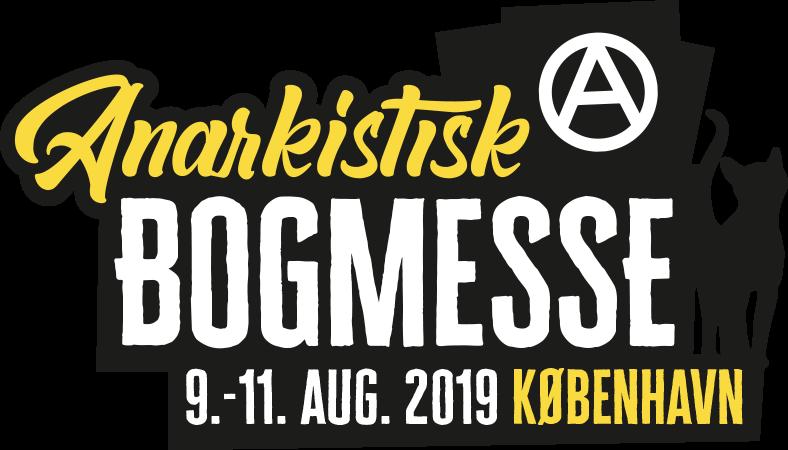 Anarkistisk Bogmesse Købenahavn 2019 Logo